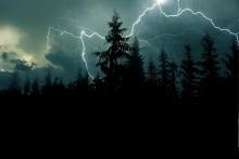 Ostrzeżenie - burze z opadami deszczu