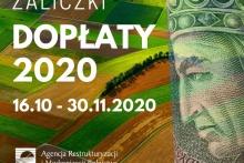 Dopłaty 2020: ruszyły wypłaty zaliczek