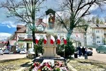 symboliczny Grób Nieznanego Żołnierza w Dobczycach