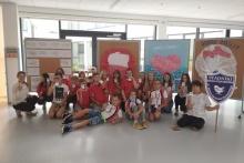 uczniowie ze Stadnik w chorwackiej szkole