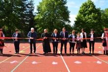 Zmodernizowane boisko w Kornatce oficjalnie otwarte