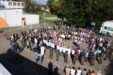 Obchody Światowego Dnia Pokoju w Zespole Szkół