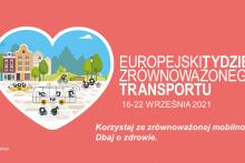 Europejski Tydzień Zrównoważonego Transportu. Korzystaj ze zrównoważonej mobilności. Dbaj o zdrowie.