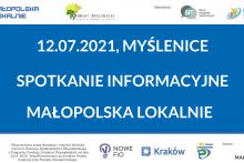 Spotkanie informacyjne - Małopolska Lokalnie