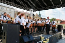 """Orkiestra Dęta """"Dobczyce"""", fot. CKiT Wieliczka"""