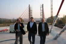 Minister Jerzy Miller z wizytą w Dobczycach