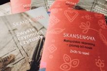 Materiały promocyjne projektu Skansenova