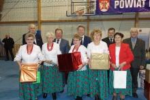KGW Brzączowice podczas Konkursu, fot. Powiat Myślenicki