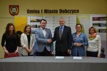 Spotkanie z przedstawicielami Koła Pszczelarzy w Dobczycach