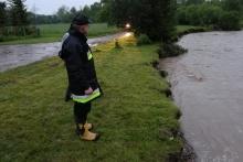 Pogotowie przeciwpowodziowe w gminie Dobczyce