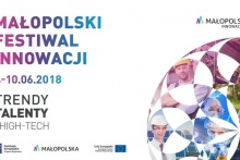 Baner Małopolskiego Festiwalu Innowacji