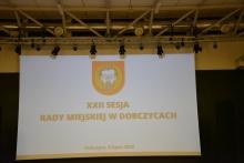 XXII Sesja Rady Miejskiej w Dobczycach