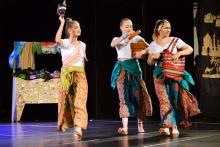 Spektakl muzyczno-taneczny Aladyn