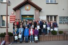 uczestnicy eliminacji gminnych - Młodzież zapobiega pożarom 2019
