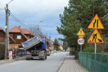 ul. Jagiellońska - roboty budowlane