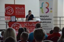 Maciej Sadlok w Dobczycach