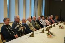 spotkanie burmistrza z emerytowanymi pracownikami urzędu miasta