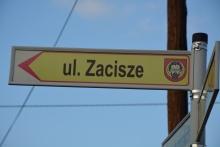 ul. Zacisze - budowa chodnika