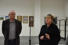 wernisaż wystawy malarstwa Anny Lewińskiej