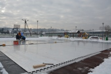 lodowisko w Dobczycach