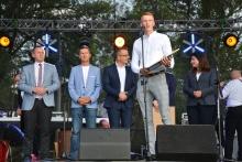 Sebastian Kasprzyk Honorowym Ambasadorem Gminy i Miasta Dobczyce