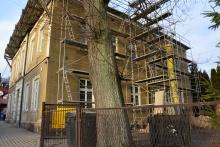 Remont dawnej szkoły przy ul. Jagiellońskiej