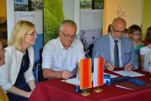 Podpisanie umowy na rozbudowę PS nr 3 w Dobczycach