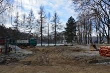 Budowa parkingu przy ul. Podgórskiej