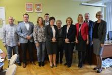 Wizyta delegacji z gminy Ustka