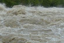 Ostrzeżenie hydrologiczne - grafika przykładowa