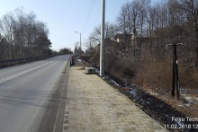Budowa chodnika wzdłuż ulicy Myślenickiej