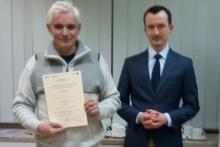 uczestnik projektu Małopolski e- Senior