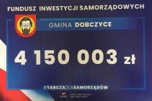 4 150 003 zł dla Gminy Dobczyce w ramach Tarczy dla Samorządów