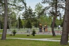 park miejski w Dobczycach