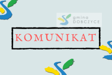 baner - komunikat burmistrza gminy i miasta Dobczyce