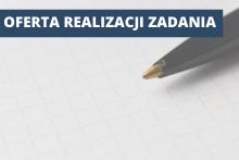 długopis i napis: oferta na realizację zadania