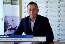 Burmistrz Gminy i MIasta Dobczyce Tomasz Suś