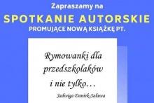 Spotkanie autorskie w bibliotece z Jadwigą Daniek - Salawą
