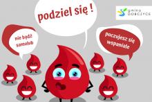 Podziel się krwią - akcja krwiodawstwa w Dobczycach