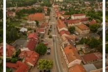 gif rynek w Dobczycach