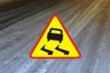 ostrzeżenie meteorologiczne - śliskie drogi