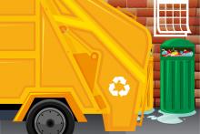Harmonogram wywozu odpadów w gminie i mieście Dobczyce w 2020 r.