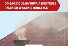 kontrole palenisk w gminie Dobczyce
