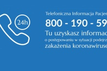Telefoniczna Infolinia Pacjenta - tu uzyskasz informacje o postępowaniu w sytuacji podejrzenia zakażenia koronawirusem