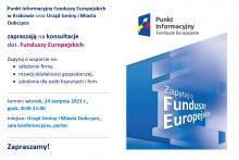 Punkt Informacyjny Funduszy Europejskich w Dobczycach