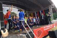 wygrana drużyny KS Raba Dobczyce w wielkim finale U11 Champions Cup