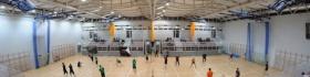 Regionalne Centrum Oświatowo-Sportowe - etap II Budowa hali sportowej