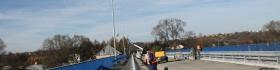 Remont mostu na Rabie