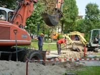przebudowa kanalizacji na os. Jagiellońskim