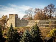 Zachowanie reliktów średniowiecznych murów miejskich w Dobczycach oraz ich konserwacja